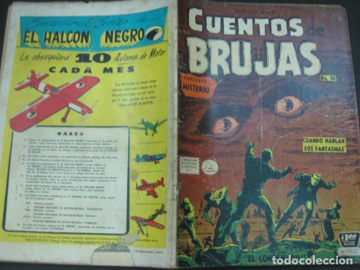 CUENTOS DE BRUJAS Nº 90. SEP. 1958. EDITORA DE PERIODICOS. LA PRENSA MEXICO. (Tebeos y Comics - Tebeos Otras Editoriales Clásicas)