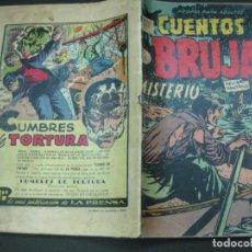 Tebeos: CUENTOS DE BRUJAS Nº 66. SEP. 1957. EDITORA DE PERIODICOS. LA PRENSA MEXICO.. Lote 187414306