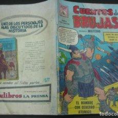 Tebeos: CUENTOS DE BRUJAS Nº 108. JUN. 1959. EDITORA DE PERIODICOS. LA PRENSA MEXICO.. Lote 187414613
