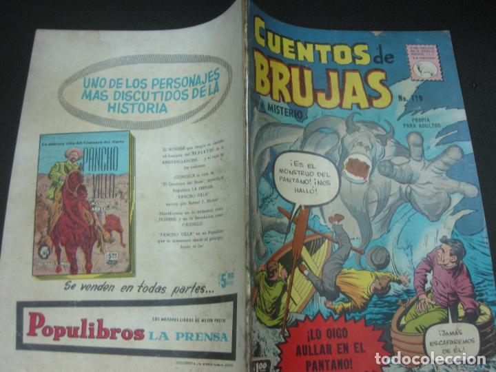 CUENTOS DE BRUJAS Nº 119. NOV. 1959. EDITORA DE PERIODICOS. LA PRENSA MEXICO. (Tebeos y Comics - Tebeos Otras Editoriales Clásicas)