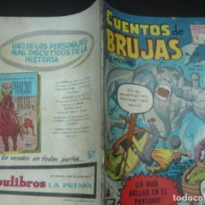 Tebeos: CUENTOS DE BRUJAS Nº 119. NOV. 1959. EDITORA DE PERIODICOS. LA PRENSA MEXICO.. Lote 187414891