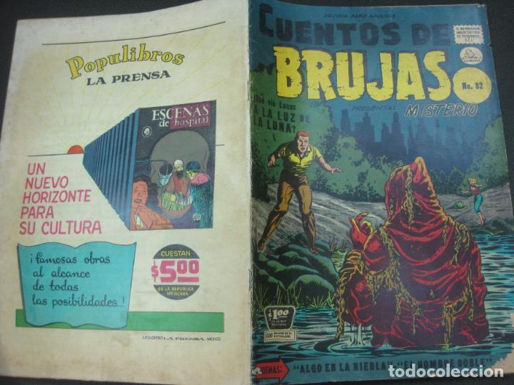CUENTOS DE BRUJAS Nº 82. MAYO. 1958. EDITORA DE PERIODICOS. LA PRENSA MEXICO. (Tebeos y Comics - Tebeos Otras Editoriales Clásicas)