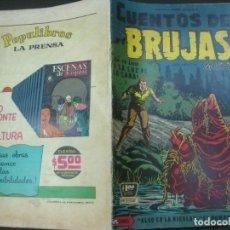 Tebeos: CUENTOS DE BRUJAS Nº 82. MAYO. 1958. EDITORA DE PERIODICOS. LA PRENSA MEXICO.. Lote 187414945