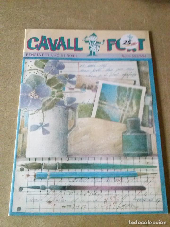 REVISTA CAVALL FORT - Nº 593/594 - (Tebeos y Comics - Tebeos Otras Editoriales Clásicas)
