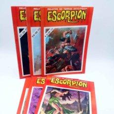 Livros de Banda Desenhada: ESCORPIÓN. RELATOS DE TERROR SICOLÓGICO. LOTE DE 6 ENTRE EL 94 Y 100 (VVAA) VILMAR, 1985. OFRT. Lote 187515901