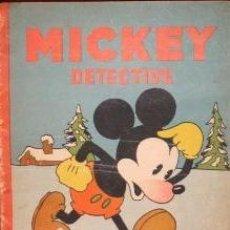 Tebeos: MICKEY DETECTIVE. EDIT. SATURNINO CALLEJA. ESPAÑA.1936. . Lote 187574720