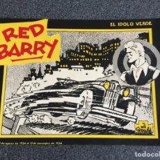 Tebeos: RED BARRY - EL ÍDOLO VERDE - NÚMERO ÚNICO - EDICIONES B.O. - 1982 - ¡MUY BUEN ESTADO!. Lote 188559642