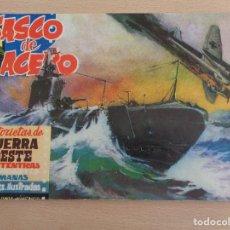 Tebeos: CASCO DE ACERO NÚM. 20. HISTORIAS DE GUERRA Y OESTE. ORIGINAL. BUEN ESTADO. Lote 188825196