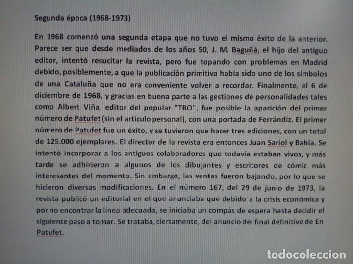 Tebeos: PATUFET SEGUNDA ÉPOCA 1968 A 1973 COLECCION COMPLETA CINCO VOLÚMENES . MUY BIEN CUIDADOS . - Foto 2 - 104912719