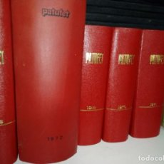 Tebeos: PATUFET SEGUNDA ÉPOCA 1968 A 1973 COLECCION COMPLETA CINCO VOLÚMENES . MUY BIEN CUIDADOS .. Lote 104912719