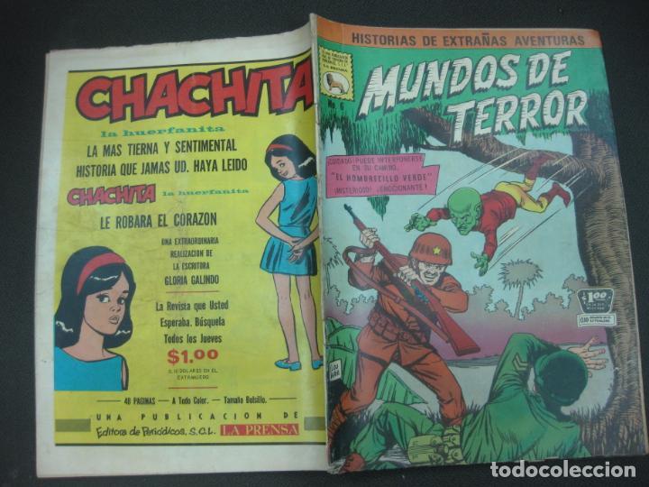 MUNDOS DE TERROR Nº 6. 31 DE MARZO DE 1968.. EDITORA DE PERIODICOS LA PRENSA. MEXICO. (Tebeos y Comics - Tebeos Otras Editoriales Clásicas)