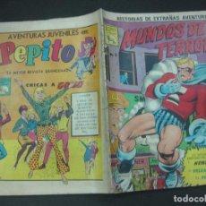 Tebeos: MUNDOS DE TERROR Nº 8. 31 DE MAYO DE 1968.. EDITORA DE PERIODICOS LA PRENSA. MEXICO. . Lote 189728720