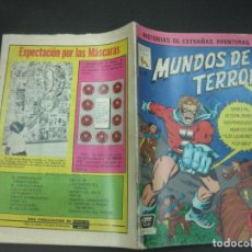 Tebeos: MUNDOS DE TERROR Nº 15. 31 DE DICIEMBRE DE 1968.. EDITORA DE PERIODICOS LA PRENSA. MEXICO. . Lote 189728900