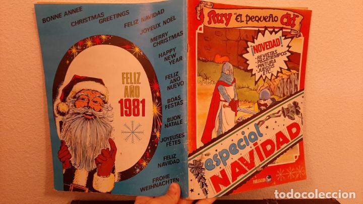 COMIC TEBEO RUY EL PEQUEÑO CID ESPECIAL NAVIDAD 1981 ALMANAQUE PUBLICACIONES FHER (Tebeos y Comics - Tebeos Otras Editoriales Clásicas)
