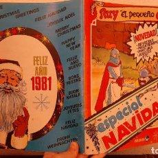 Tebeos: COMIC TEBEO RUY EL PEQUEÑO CID ESPECIAL NAVIDAD 1981 ALMANAQUE PUBLICACIONES FHER. Lote 189743017