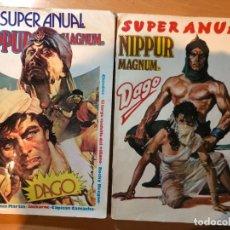 Tebeos: LOTE COMICS SUPER ANUAL MAGNUM (NÚMERO 6 Y 8). EDITORIAL COLUMBA. BUEN ESTADO.. Lote 190132010
