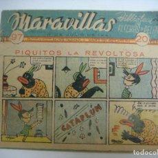 Tebeos: COMICS DE MARAVILLAS DE FLECHAS Y PELAYO Nº-97 --17 DE JULIO 1941. Lote 190171160