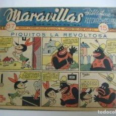 Tebeos: COMICS DE MARAVILLAS DE FLECHAS Y PELAYO Nº-87--8 MAYO-1941. Lote 190171300