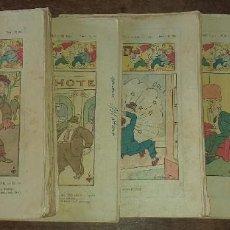 Livros de Banda Desenhada: LOTE DE 11 NÚMEROS DE EN PATUFET ANY XXXI - BARCELONA 1934. Lote 190321501
