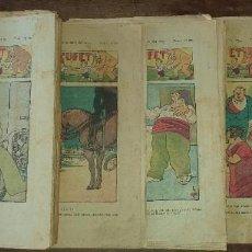 Livros de Banda Desenhada: LOTE DE 10 NÚMEROS DE EN PATUFET ANY XXXII - BARCELONA 1935. Lote 190324365
