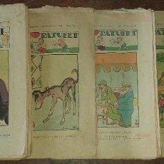 Livros de Banda Desenhada: LOTE DE 11 NÚMEROS DE EN PATUFET ANY XXXIII - BARCELONA 1936. Lote 190325626