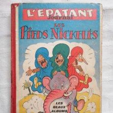 Tebeos: L'EPATANT, JOURNAL DES PIEDS NICKELÉS AÑO COMPLETO DE 1950 BINE M. PELLOS ENTRE OTROS. Lote 190526423