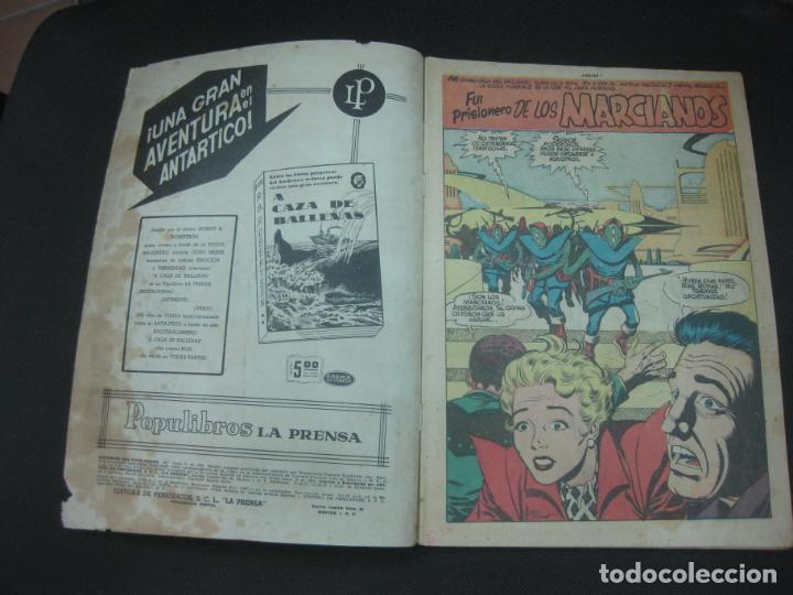Tebeos: MISTERIOS DEL GATO NEGRO Nº 94. JULIO DE 1959. EDITORA DE PERIODICOS LA PRENSA MEXICO. - Foto 3 - 187163135