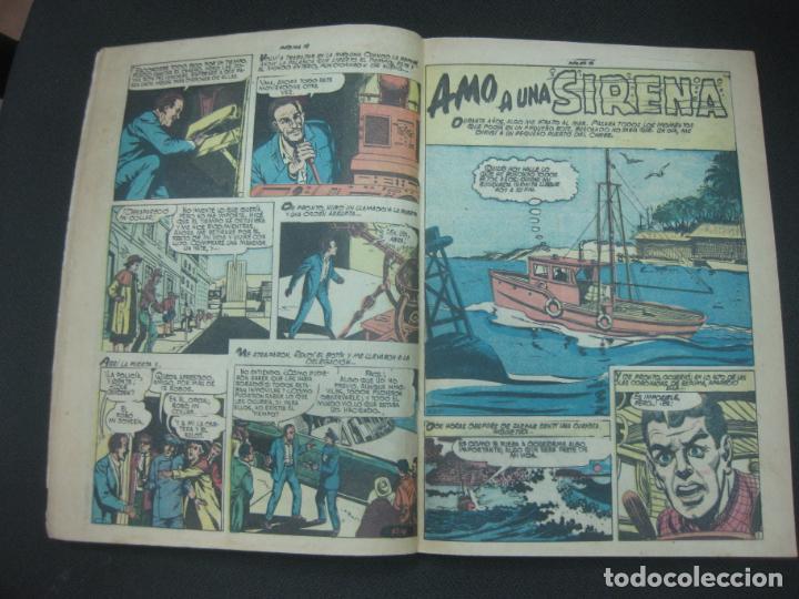 Tebeos: MISTERIOS DEL GATO NEGRO Nº 94. JULIO DE 1959. EDITORA DE PERIODICOS LA PRENSA MEXICO. - Foto 5 - 187163135