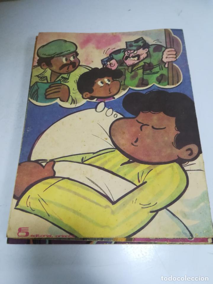 Tebeos: TEBEO. CUBA. CECILIN Y LA HISTORIA. EDITORIAL ORIENTE. 1988. VER FOTOS - Foto 2 - 190701107