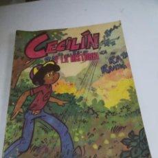 Tebeos: TEBEO. CUBA. CECILIN Y LA HISTORIA. EDITORIAL ORIENTE. 1988. VER FOTOS. Lote 190701107