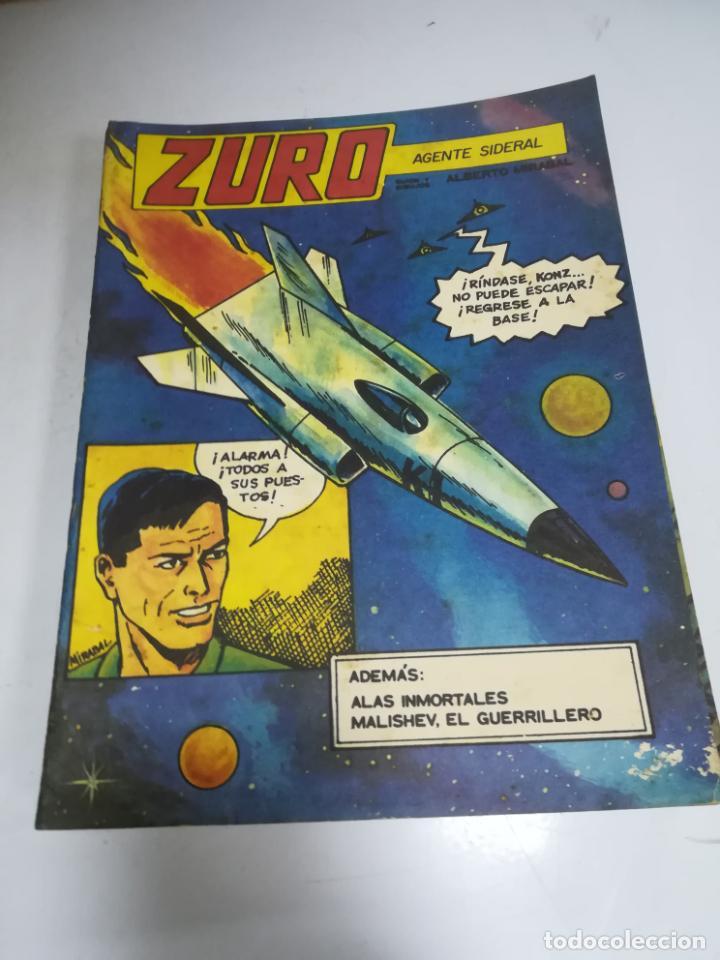 TEBEO. CUBA. ZURO. AGENTE SIDERAL. ALBERTO MIRABAL. EDITORIAL ORIENTE. 1986. (Tebeos y Comics - Tebeos Otras Editoriales Clásicas)