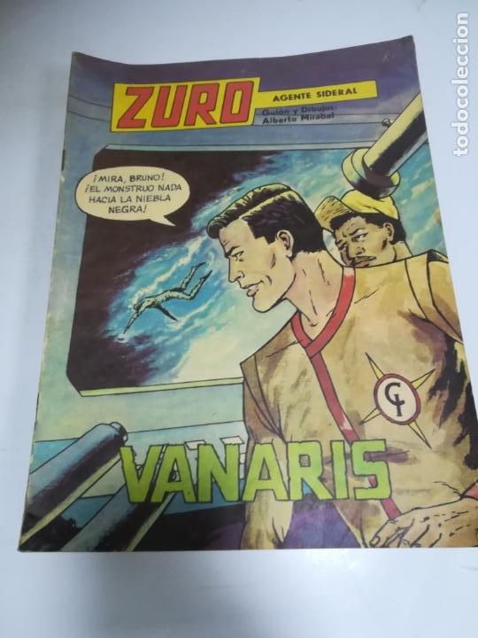 TEBEO. CUBA. ZURO. AGENTE SIDERAL. VANARIS. EDITORIAL ORIENTE. 1989. (Tebeos y Comics - Tebeos Otras Editoriales Clásicas)