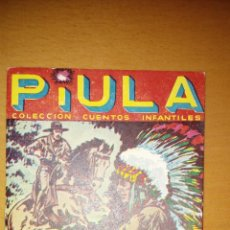 Tebeos: PIULA Nº 5. EDITORIAL NEREIDA. PERFECTO ESTADO. NOBLEZA INDIA. Lote 190703286