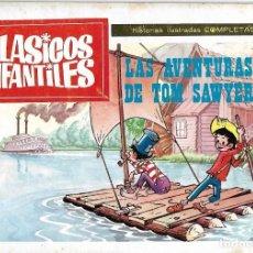 Tebeos: CLASICOS INFANTILES Nº AVENTURAS DE TOM SAWYER,EDT.,PLAN 1968.-LEER Y VER FOTO. Lote 190738381