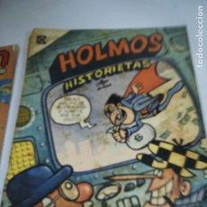 Tebeos: TEBEO. CUBA. HOLMOS. HISTORIETAS. 1989. EDITORIAL PABLO DE LA TORRIENTE. Lote 190799486