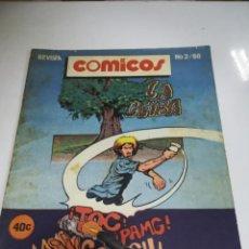 Tebeos: TEBEO. CUBA. COMICOS. Nº 2. AÑO 1988. EDITORIAL PABLO DE LA TORRIENTE. Lote 190800903