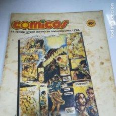Tebeos: TEBEO. CUBA. COMICOS. Nº 12. AÑO 1989. EDITORIAL PABLO DE LA TORRIENTE. Lote 190801002