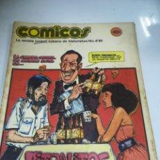 Tebeos: TEBEO. CUBA. COMICOS. Nº 8. AÑO 1989. EDITORIAL PABLO DE LA TORRIENTE. Lote 190801142