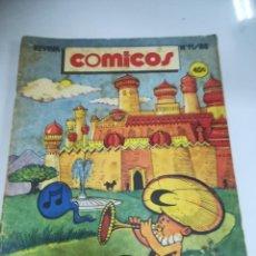 Tebeos: TEBEO. CUBA. COMICOS. Nº 11. AÑO 1988. EDITORIAL PABLO DE LA TORRIENTE. Lote 190801277