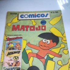 Tebeos: TEBEO. CUBA. COMICOS. Nº 3. AÑO 1988. EDITORIAL PABLO DE LA TORRIENTE. Lote 190801493