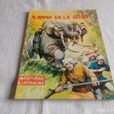 Tebeos: AVENTURAS ILUSTRADAS ALARMA EN LA SELVA . Lote 190999182