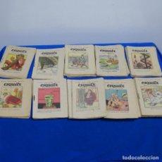 Tebeos: 57 CUENTOS TEBEOS ESQUITX Y UNO DE CALLEJA.. Lote 191115182