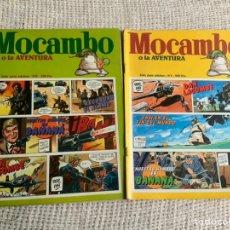 Tebeos: MOCAMBO O LA AVENTURA Nº 1 Y 2 COMPLETA - EDICIONES METROPOL. Lote 191210316
