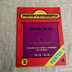 Tebeos: PERVERSEX Nº 4 - REVISTA EROTICA AÑOS 80. Lote 191210536