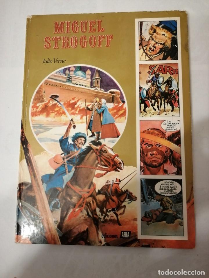 MIGUEL STROGOFF-EDICIONES AFHA-1978-LA OBRA GENIAL DE RAMÓN DE LA FUENTE. (Tebeos y Comics - Tebeos Otras Editoriales Clásicas)