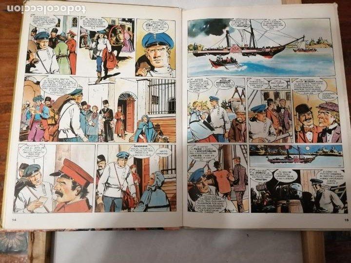 Tebeos: MIGUEL STROGOFF-EDICIONES AFHA-1978-LA OBRA GENIAL DE RAMÓN DE LA FUENTE. - Foto 9 - 191375813