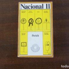 Tebeos: LAIA 1972, PERICH NACIONAL II. Lote 191463825