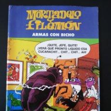Tebeos: MUY BUEN ESTADO MORTADELO Y FILEMON ARMAS CON BICHO. Lote 191677510