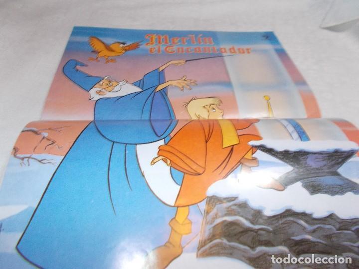 Tebeos: CLASICOS DISNEY nº 10 Merlín el encantador - Foto 3 - 191732953