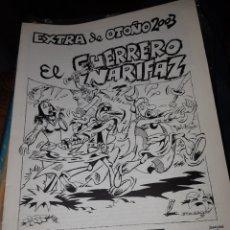 Tebeos: TEBEOS COMICS CANDY - UN OTOÑO DE VIÑETAS - EL GUERRERO NARIFAZ - RARÍSIMO - AA97. Lote 191999461